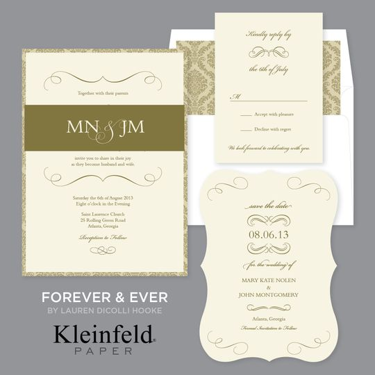 Forever & Ever Vintage romance plays out in this lovely design done in a choice of 3 soft colors,...