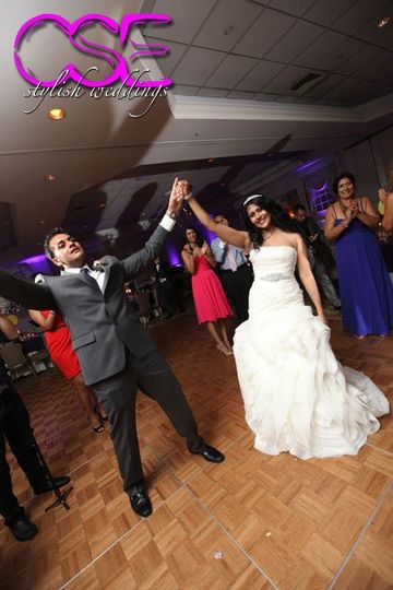 Renee and Vish dance the night away with City Sounds Entertainment at The Bridgewater Manor.