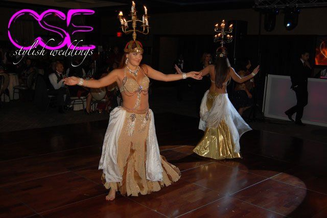 Belly Dancers at Nadine and Jorge's Wedding at The Imperia.