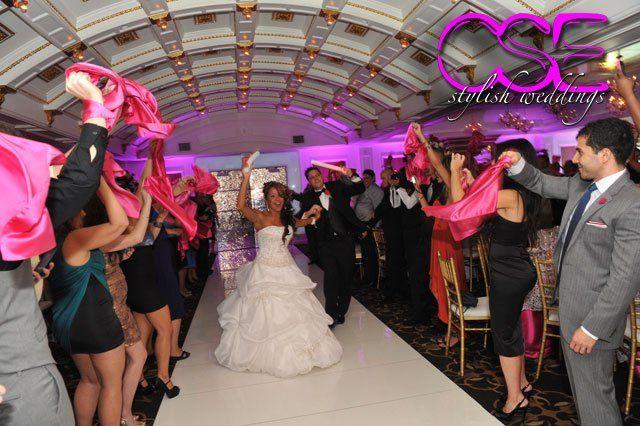 Tmx 1363125408804 Citysoundsentertainmentcseweddingbrideandgroomrunwayentrance East Brunswick wedding dj