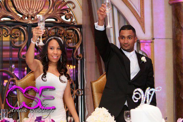 Tmx 1363125410239 Citysoundsentertainmentcseweddingbrideandgroomtoast East Brunswick wedding dj