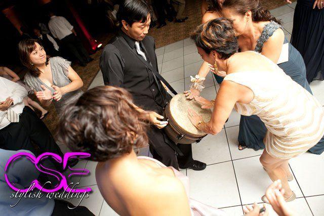 Tmx 1363125831081 Citysoundsentertainmentcseweddingcitysoundslivepercussionist East Brunswick wedding dj