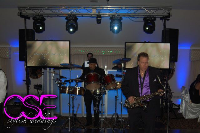Tmx 1373996641025 Citysoundsentertainmentcselivemusicianssaxophonepercussion East Brunswick wedding dj