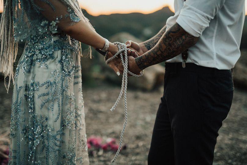 Cielo Farms Wedding. Photo Credit: Heirlume Photography