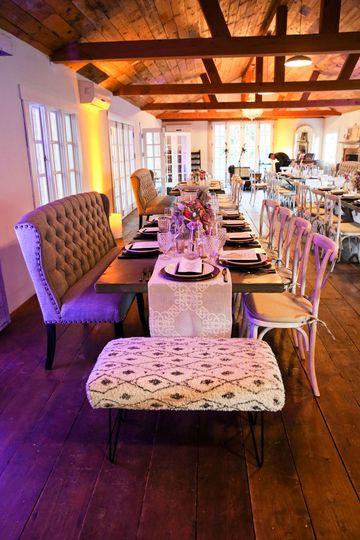 Triunfo Creek Vineyards, Agoura Hills. Wedding Reception