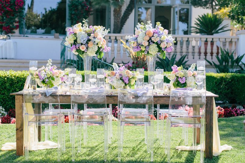 Sunset Table Design. Stop and Stare Events. Gloria Mesa Photography