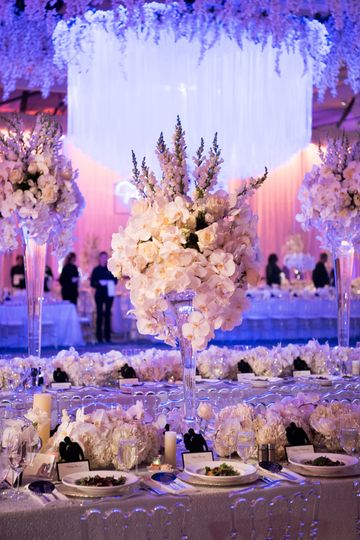 Showstopping centerpieces