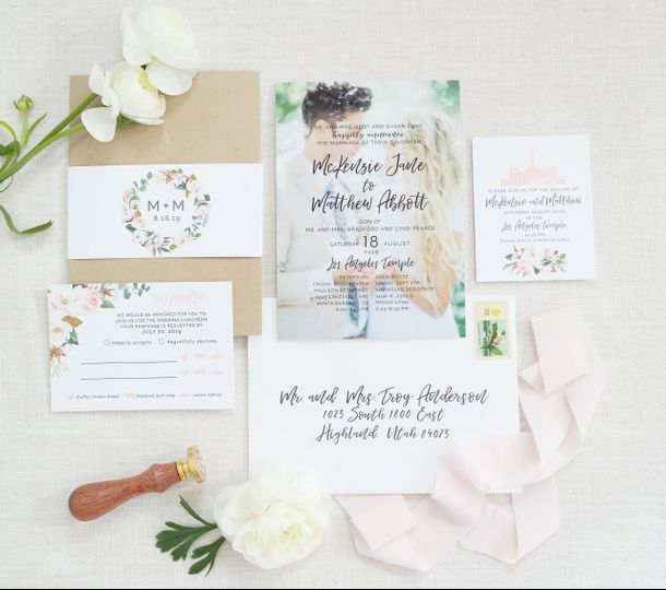 Photo invitations with style