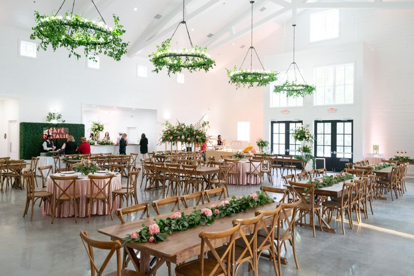 Reception Barn - interior