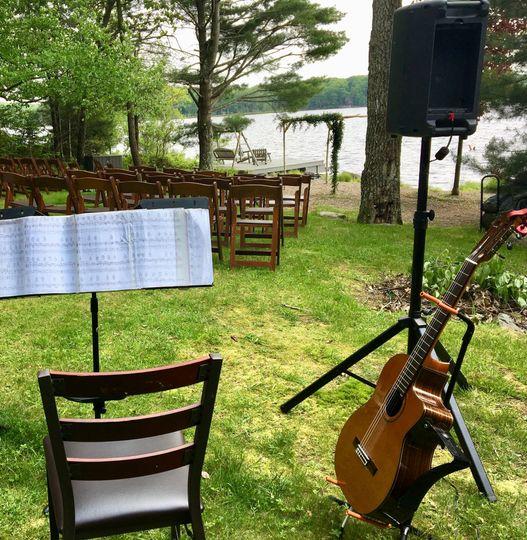 Lake ceremony, Upstate NY