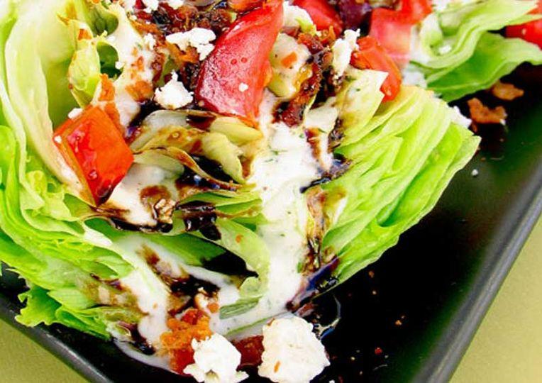 Wedge salads