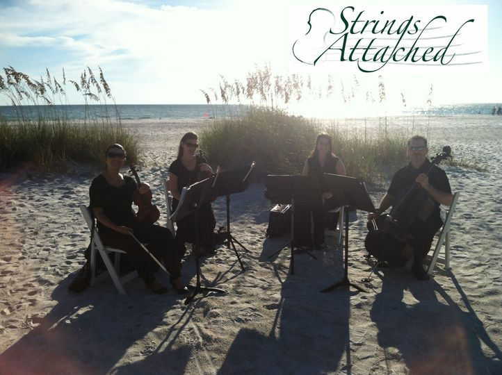 String quartet beach performance
