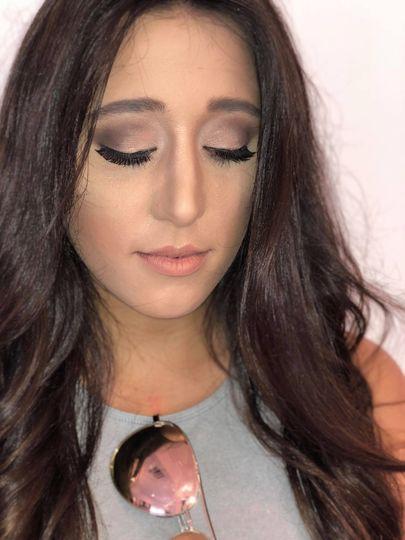 Bridal portraits makeup