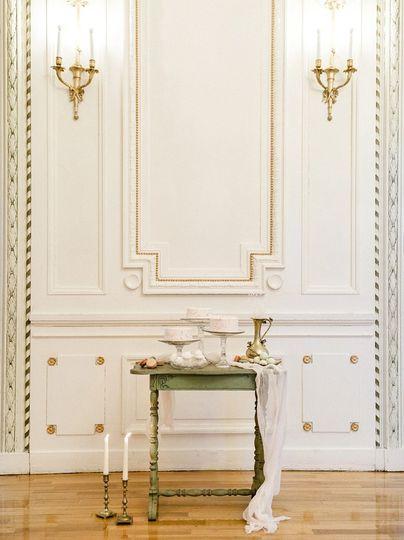Parisian Dessert Display