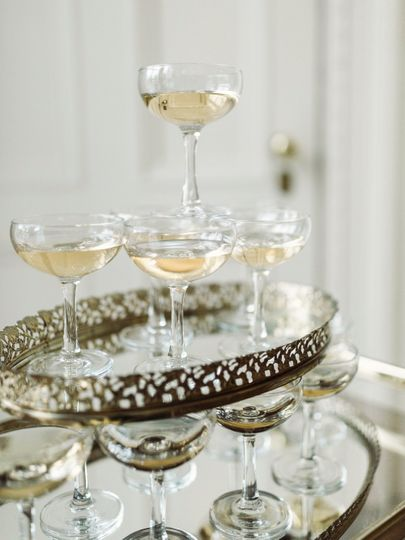 Champagne Display