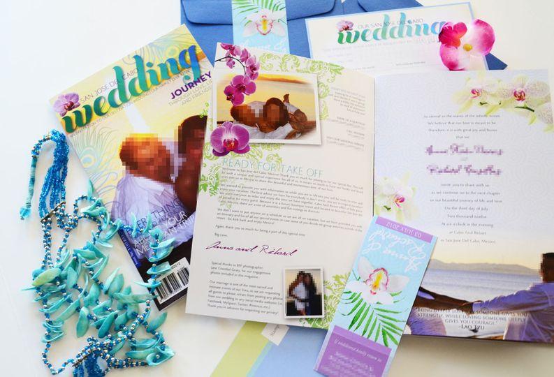 anna magazine destination wedding invitation 6
