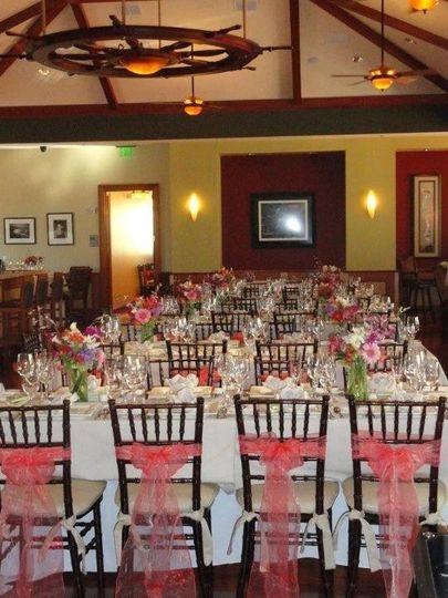 Table setting .