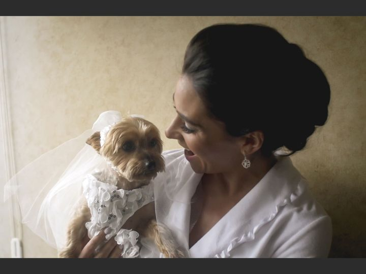 Tmx 1519962386 6cb62883ea202b9c 1519962341 C8edb59a1dd26a52 1519962349566 9 Aprilpuppy Montclair wedding videography