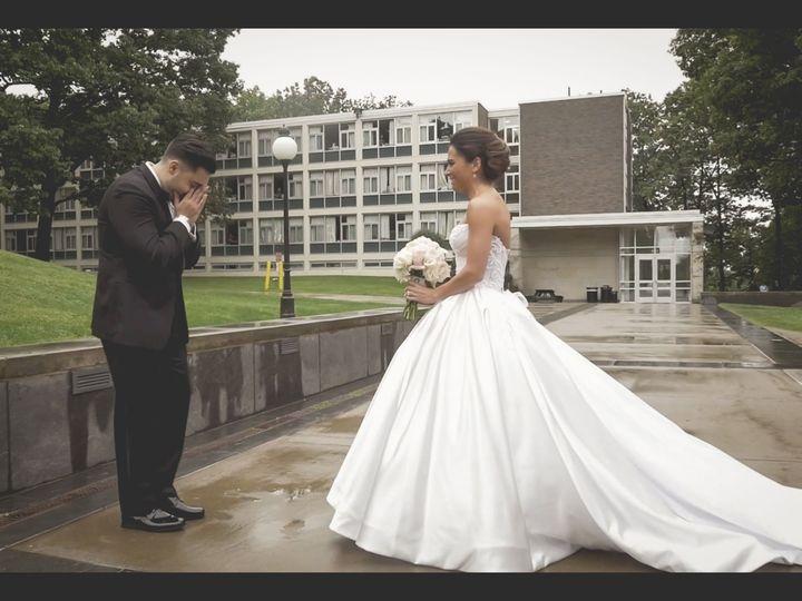 Tmx 1519962390 F2e922e6ca3a461d 1519962341 1a7ed828c65ea66c 1519962349566 8 April First Look  Montclair wedding videography