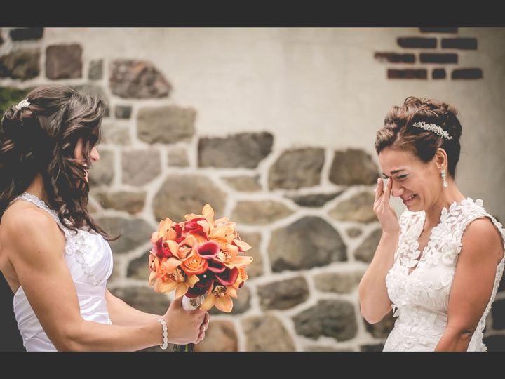 Tmx 1519969318 De6f755ef8afe1a4 1519969316 86421c6af122a565 1519969327651 1 Carla First Look Montclair wedding videography