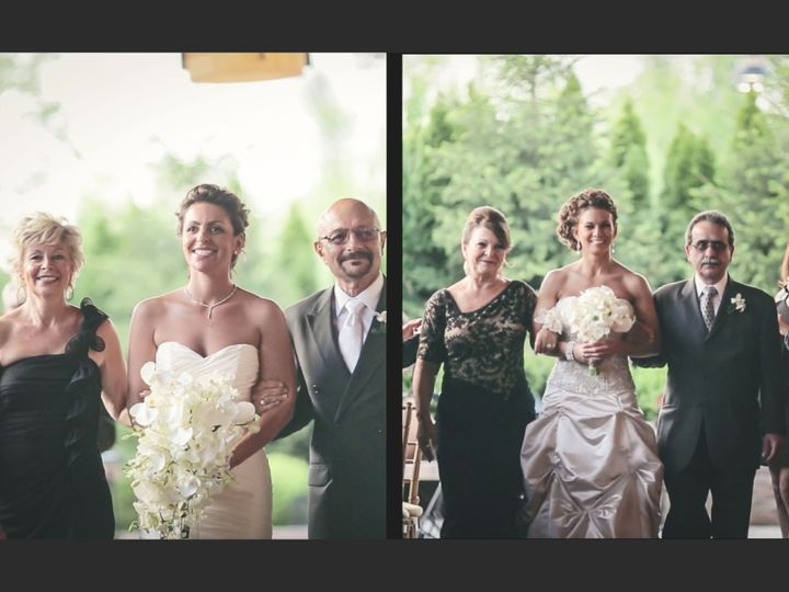 Tmx 1519969335 28b994608fc1626d 1519969332 8bd76cb799d79990 1519969327663 21 Robynwalkdown Montclair wedding videography