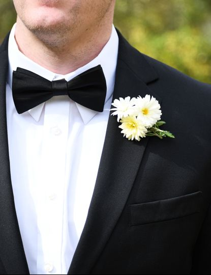 Groom's Close Up
