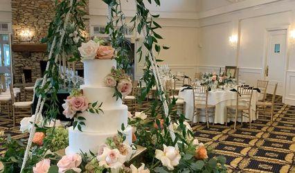 Sweet Peony Wedding Cakes