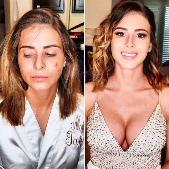 Skincare & Makeup B & A