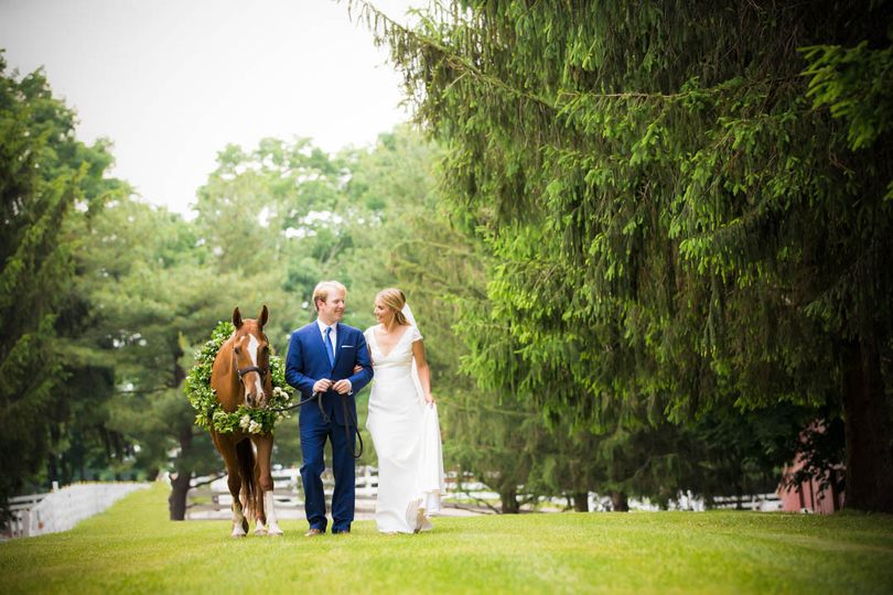 Katrina and Brian's was a fairy-tale wedding. It was held on Brian's families 100-acre estate in New...