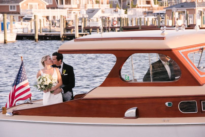 Courtney and Fred's special day was held at Bay Head Yacht Club. They had a perfect day on the water...