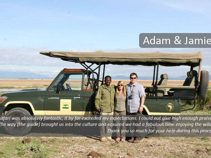 Tmx 1484163906779 Safari Adam  Jamie Denver wedding travel