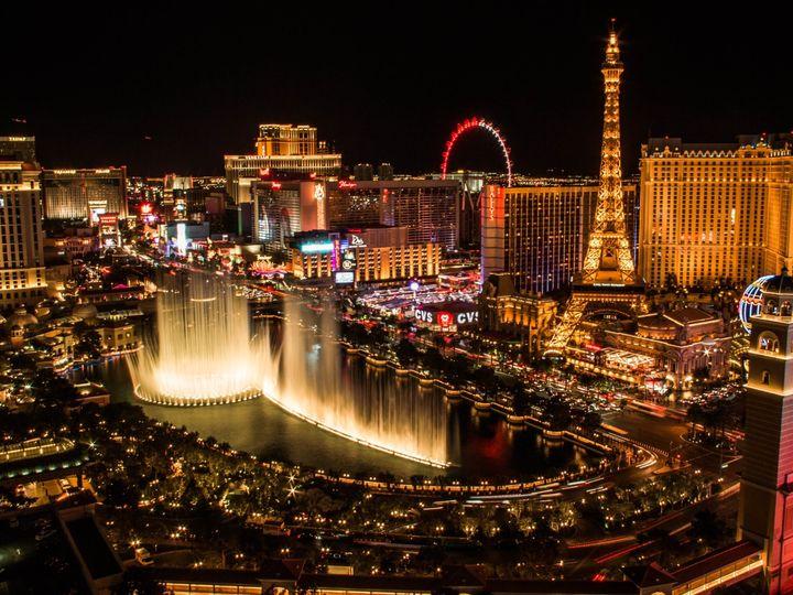 Tmx Us Vegas Skyline At Night Landscape 51 1967981 158773223931523 Chicago, IL wedding travel