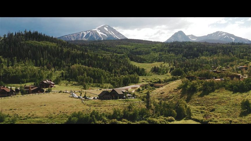 Drone footage of ceremony Site