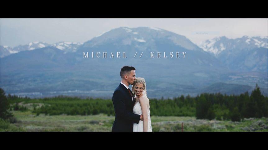 Mountain wedding footage