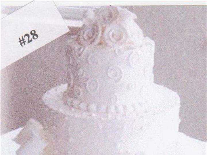 Tmx 1333317922653 28 Elk River, Minnesota wedding cake