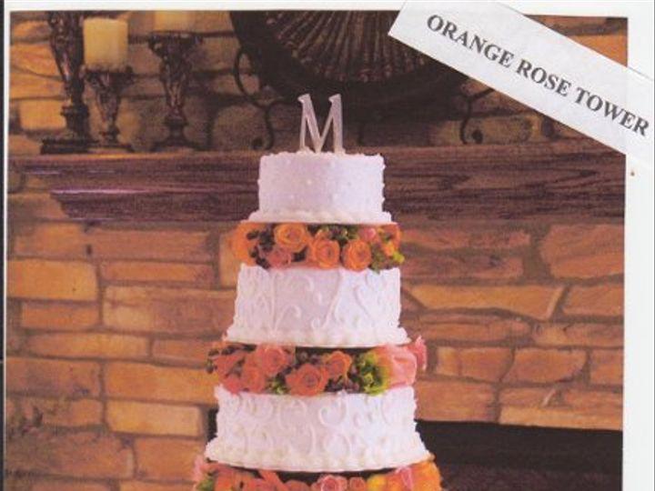 Tmx 1333318607850 OrangeRoseTower Elk River, Minnesota wedding cake