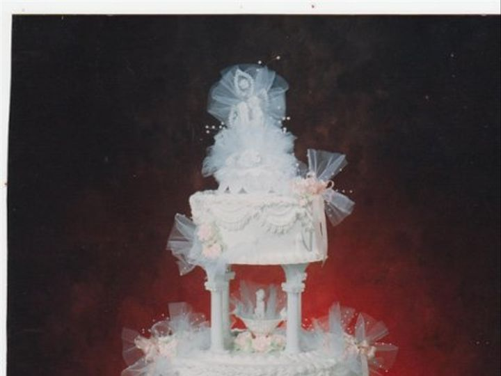Tmx 1333319510706 Pink Elk River, Minnesota wedding cake