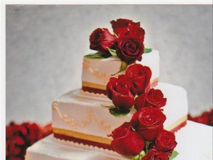 Tmx 1333319575566 RedandGold Elk River, Minnesota wedding cake