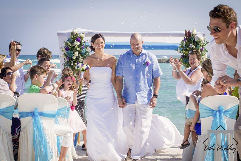 Ceremony on the beach