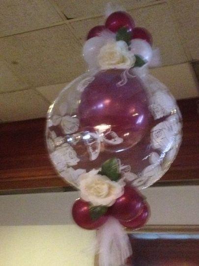 a ballon deco bubble 2
