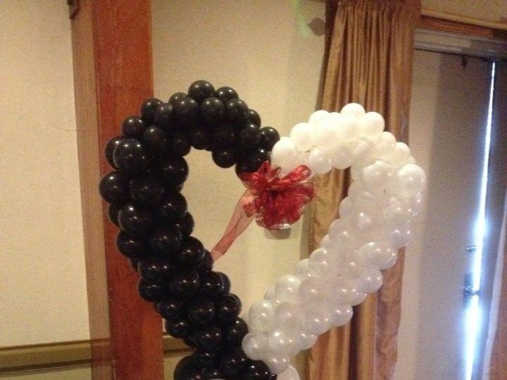 Tmx 1426282688526 A Balloon Heart Dingmans Ferry wedding rental