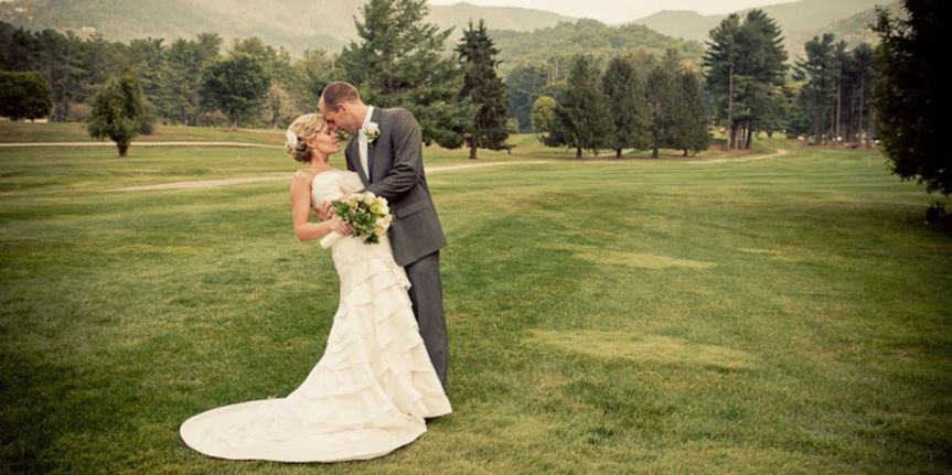 the waynesville inn golf resort spa wedding wayne