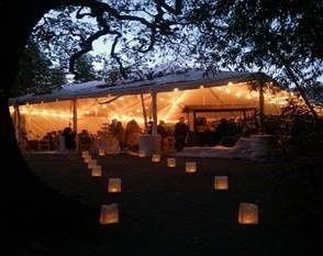 Lanterns lighting the way
