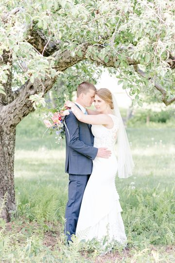 Couple in the Orchard