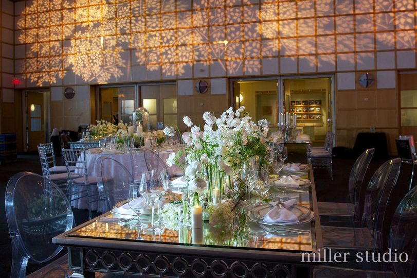 Long wedding tables | miller studio photography
