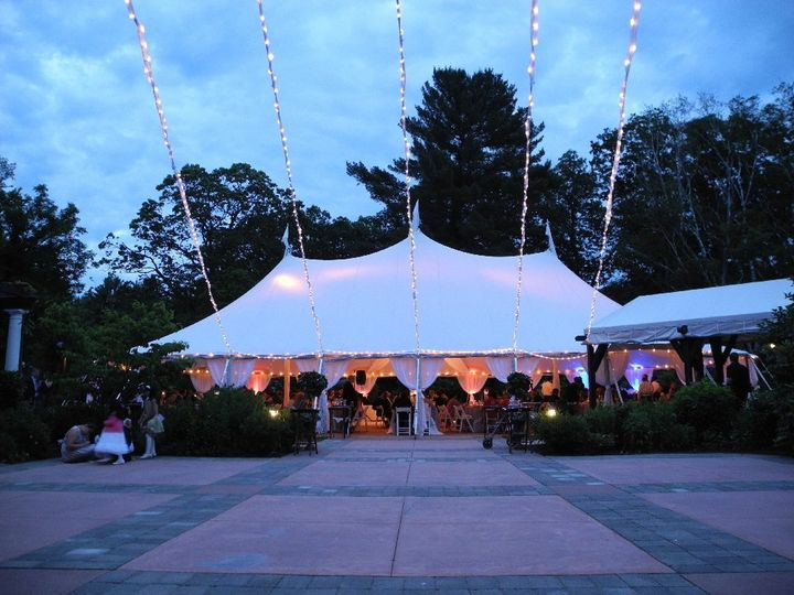 Tmx 1340221817490 EveningTentandBeeLights2Rev Dover wedding eventproduction