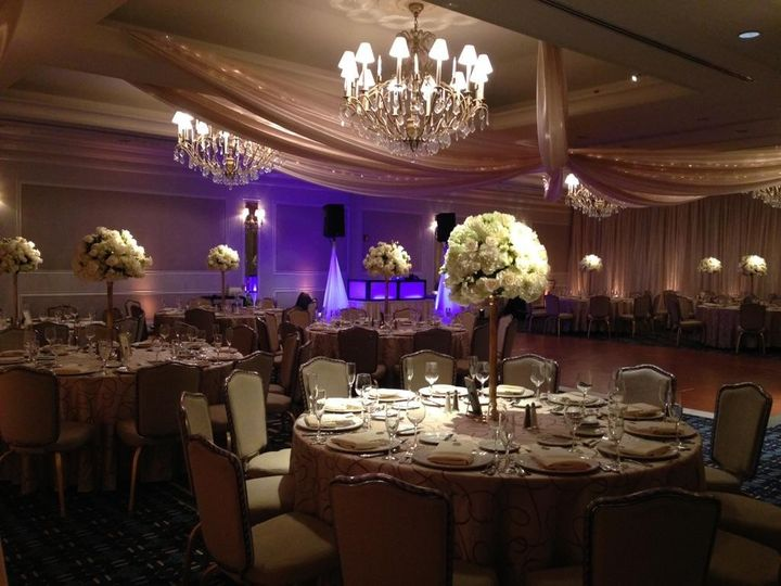 Tmx 1456775378804 Champagne Fabric Star With Bee Lights Dover wedding eventproduction