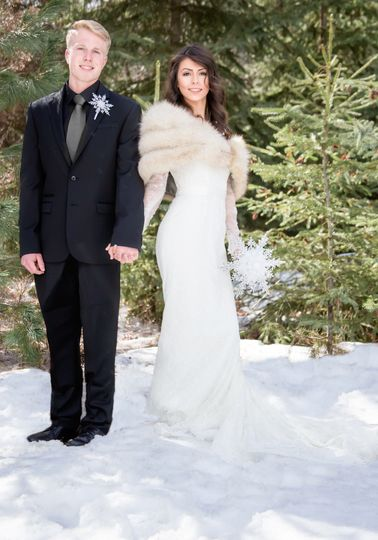Perfect for a Winter Wonderland Wedding