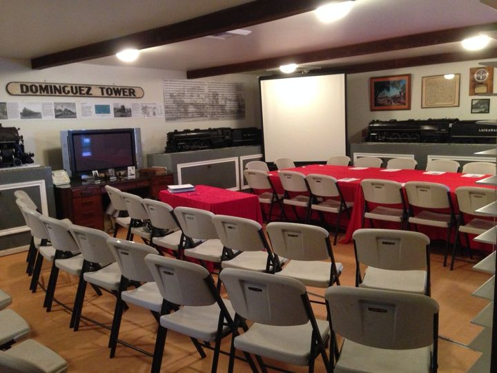 carriage house set up for board meeting ii