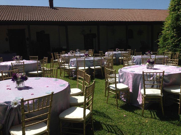 wedding reception on upper back grounds ii